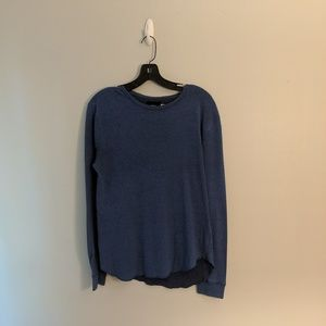 3/$25 UO BDG Unisex Blue Long Sleeve T Shirt